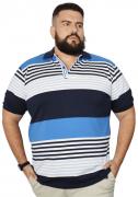 Camisa Polo Masculina Listra Plus Size