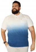 Camisa Polo Tie Dye Degradê Plus Size - Promoção