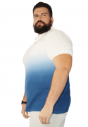 Camisa Polo Tie Dye Degradê XPlusSize