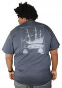 Camiseta Black Pearl Plus Size