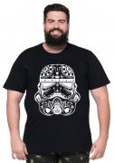 Camiseta Darth Vader XPlusSize 100% Algodão