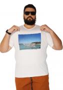 Camiseta Gola V Búzios-RJ Plus Size - Promoção