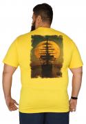 Camiseta Gola V Caravela Plus Size - Promoção