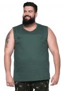 Camiseta Machão Básica Plus Size 100% Algodão
