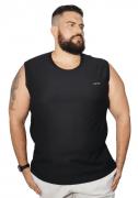 Camiseta Machão Flamê com Bordado XPlusSize 100% Algodão
