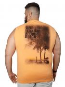 Camiseta Machão Life is Better Plus Size - Promoção