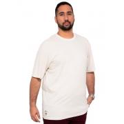 Camiseta Listra Fininha Com Bordado Plus Size - Promoção