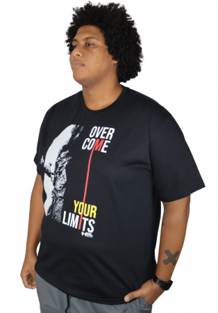 Camiseta Over Come Plus Size
