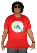 Camiseta Palm Tree Plus Size