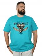 Camiseta Plus Size Vintage Motocycles