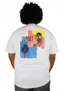 Camiseta Sunset Plus Size