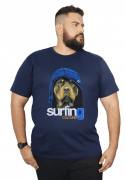 Camiseta Surfing Culture Plus Size - Promoção