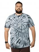 Camiseta Tie Dye Infinito Plus Size