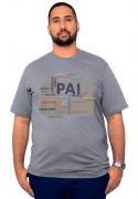 Camiseta XXPlusSize Dia Dos Pais Papai 100% Algodão