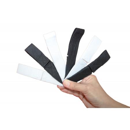 Kit 10 Protetores de Orelha Reguláveis para Máscara
