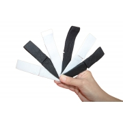 Kit 24 Protetores de Orelha Reguláveis para Máscara