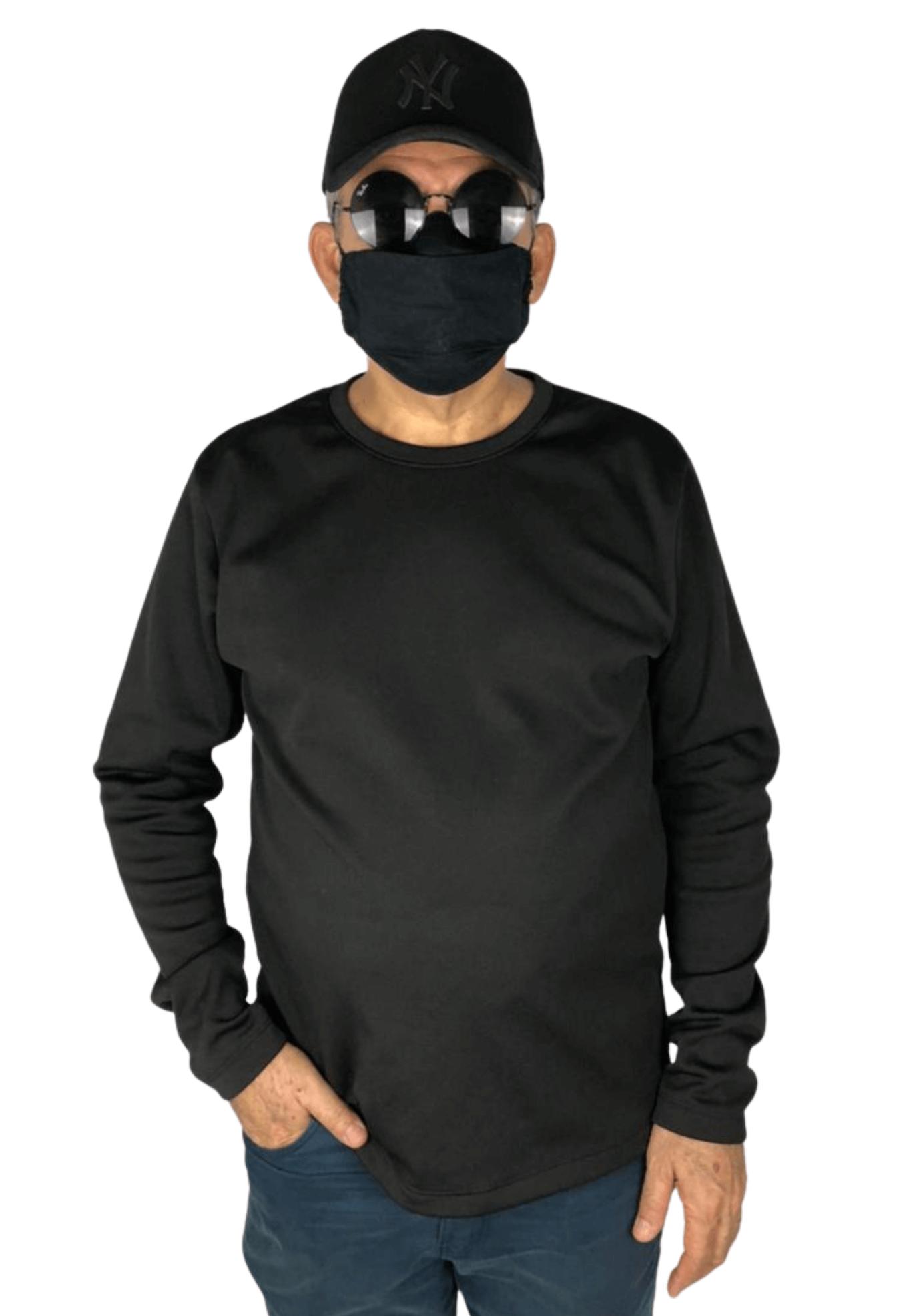 Agasalho de Moletom Flanelado - Blusão EXXPlusSize
