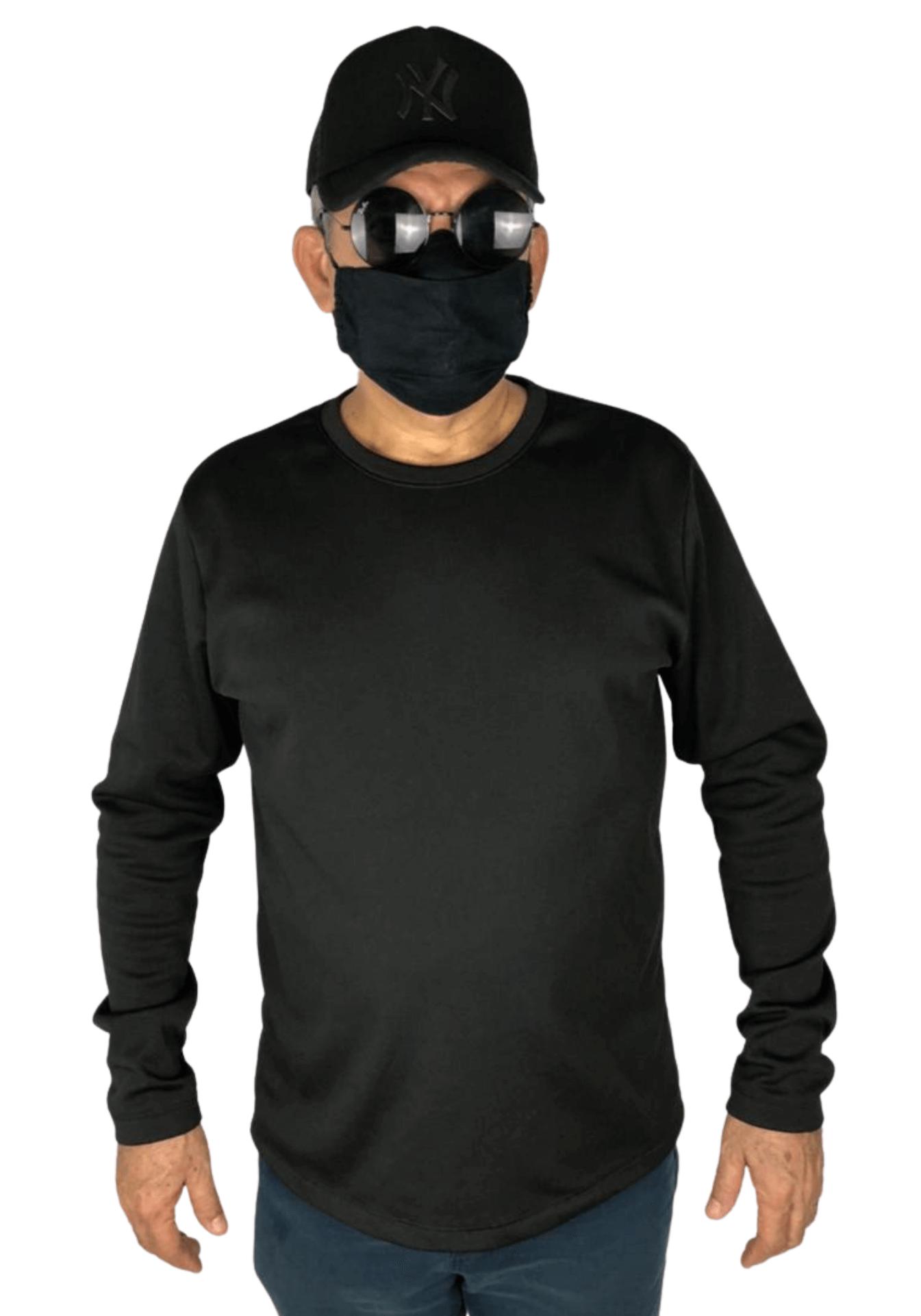 Agasalho de Moletom Flanelado - Blusão Plus Size