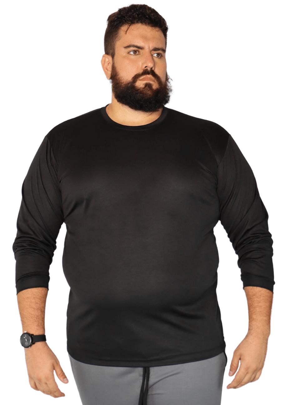 Agasalho Plus Size Moletom Flanelado - Blusão Plus Size