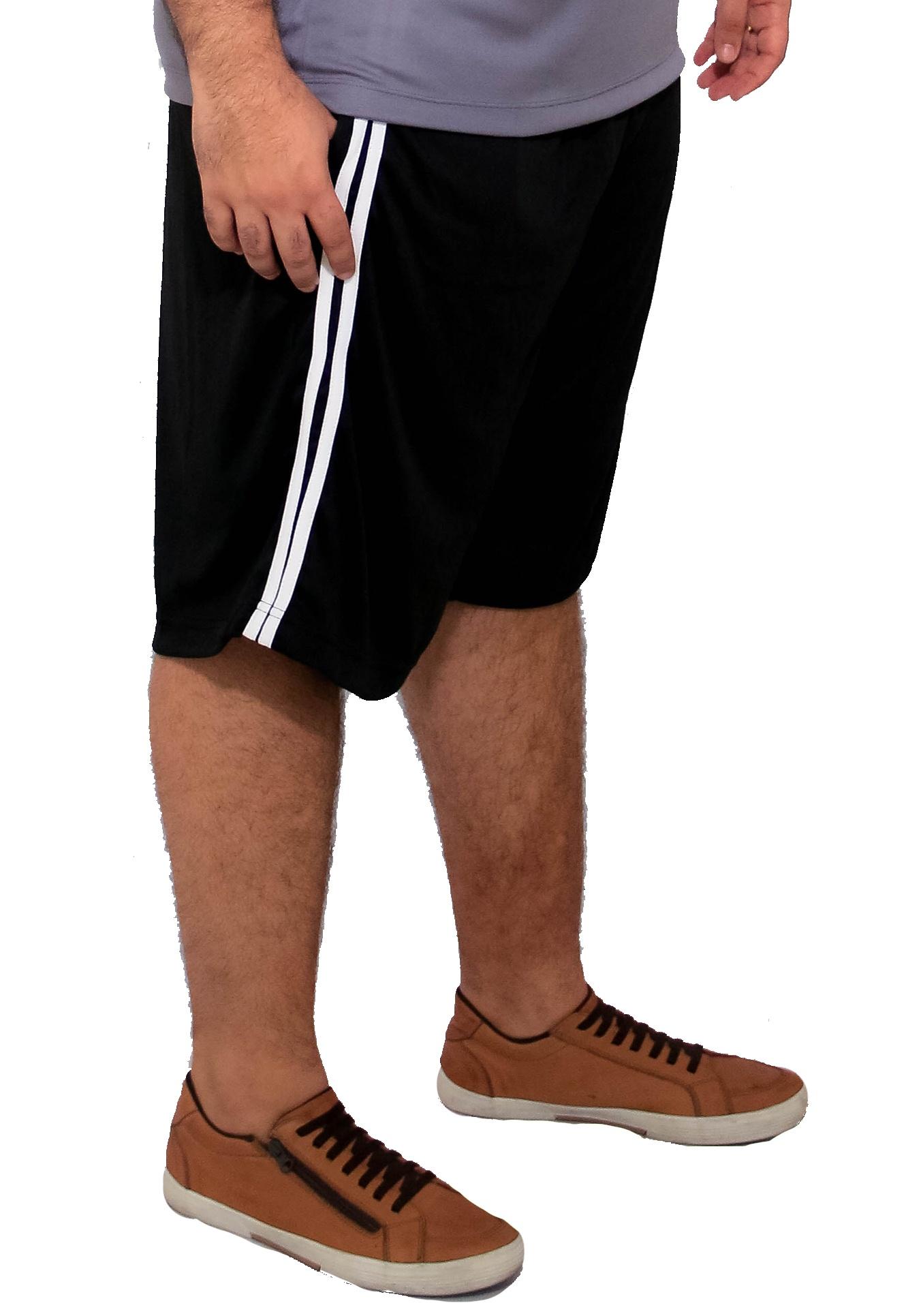 Bermuda Plus Size Dry-Fit Helanca Light Esportes PlusSize
