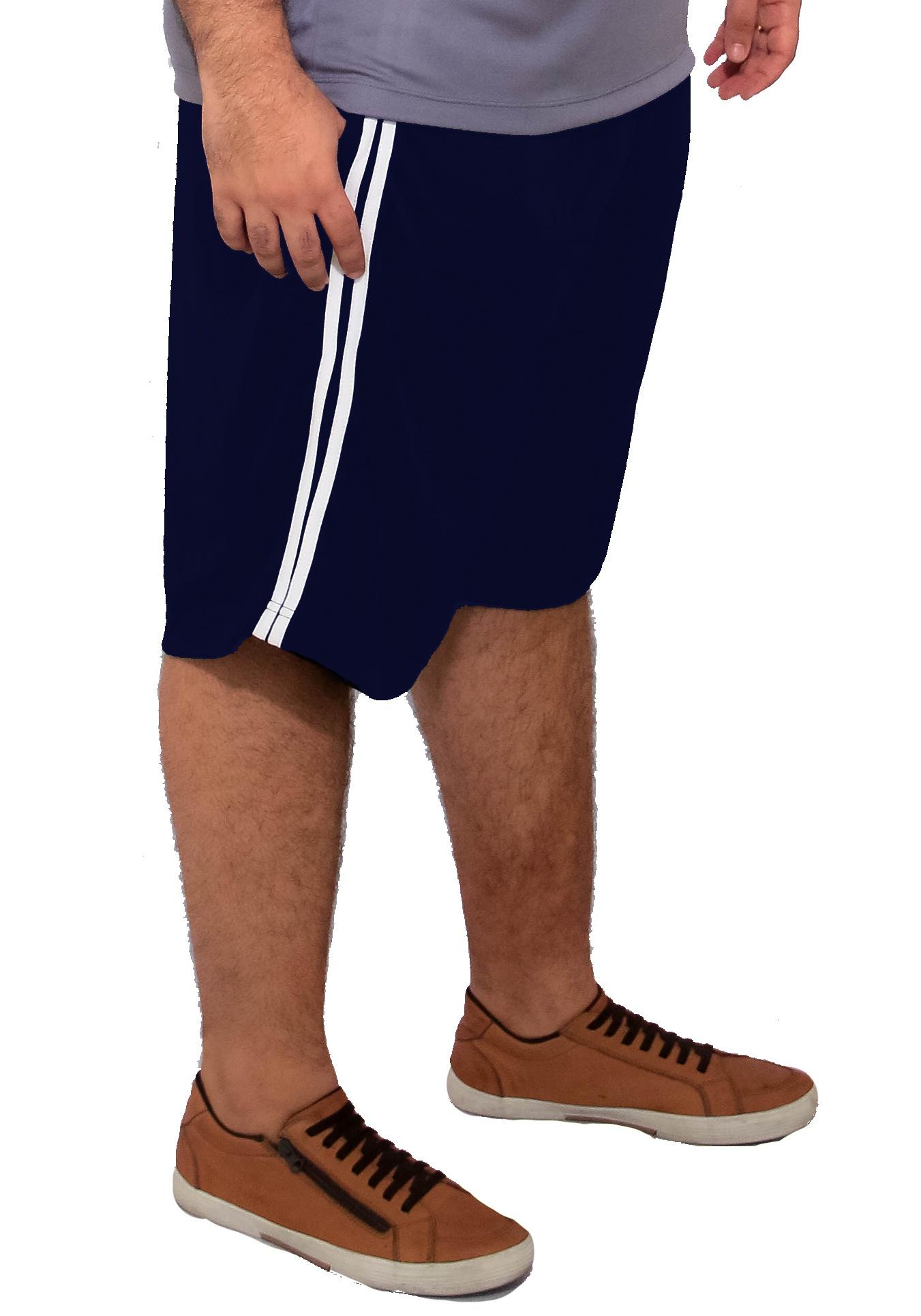 Bermuda Plus Size Dry-Fit Helanca Light Esportes XPlusSize