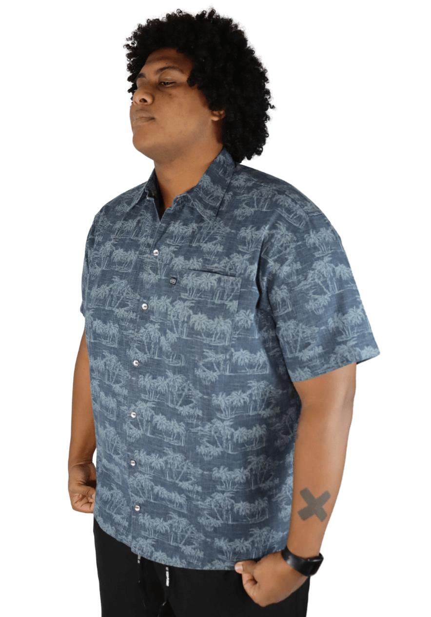 Camisa Colarinho com Bolso Plus Size  - Promoção