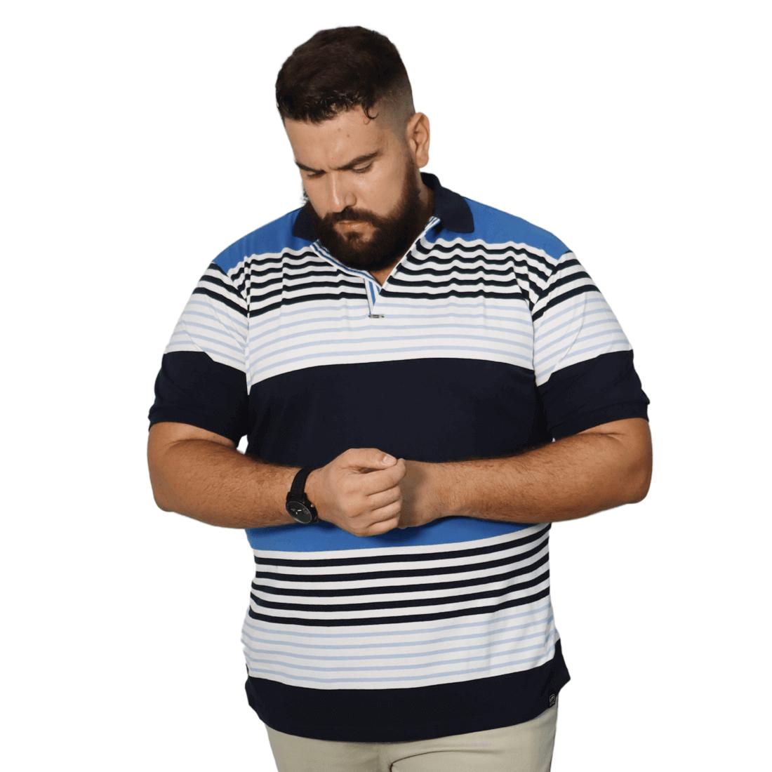 Camisa Polo Masculina Listra XXPlusSize
