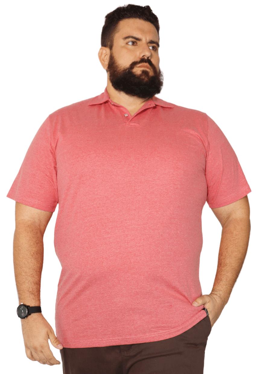Camisa Polo Mescla Plus Size