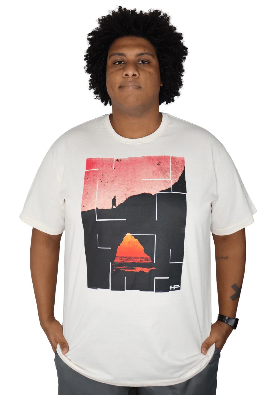 Camiseta Adventure Plus Size