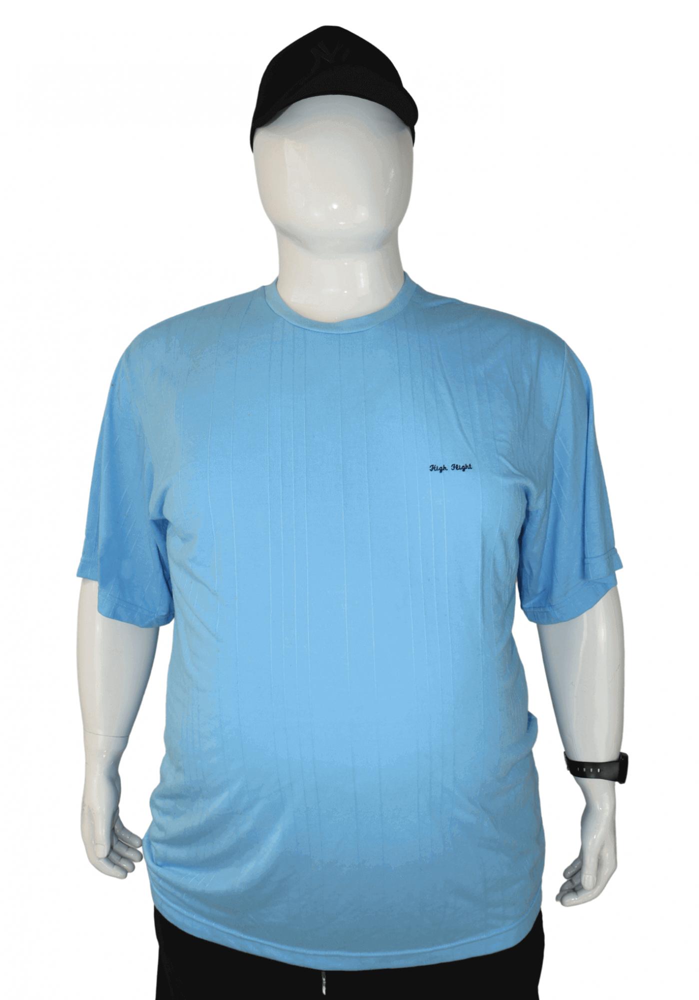 Camiseta Masculina Bordada Plus Size - Promoção