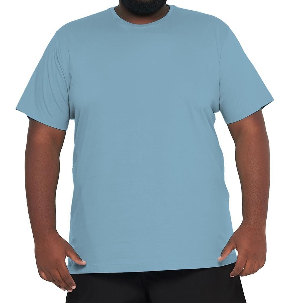Camiseta Plus Size Básica Elegante 100% Algodão