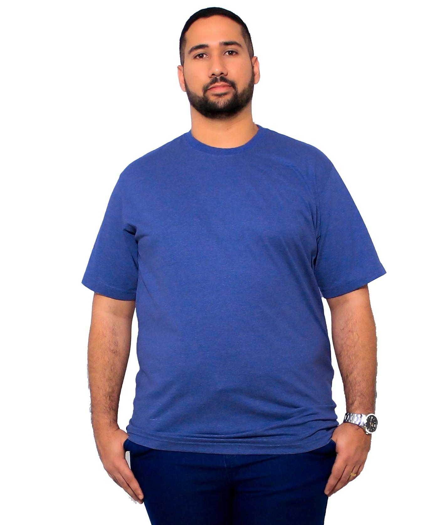 Camiseta Plus Size Básica Elegante
