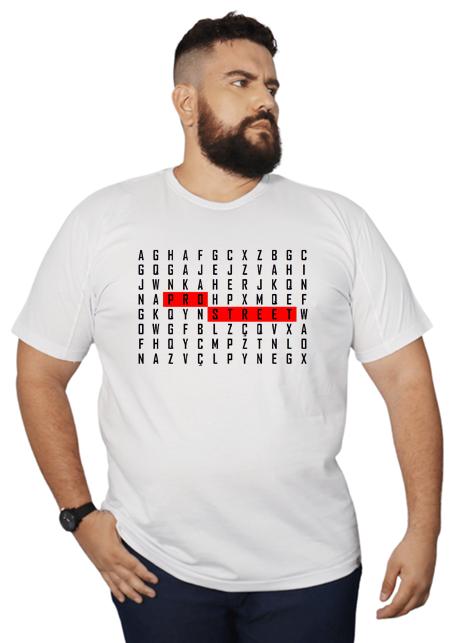 Camiseta Plus Size Hunting Words