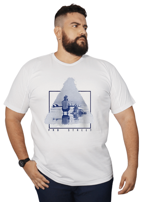 Camiseta The Dog Surfing Plus Size - Promoção