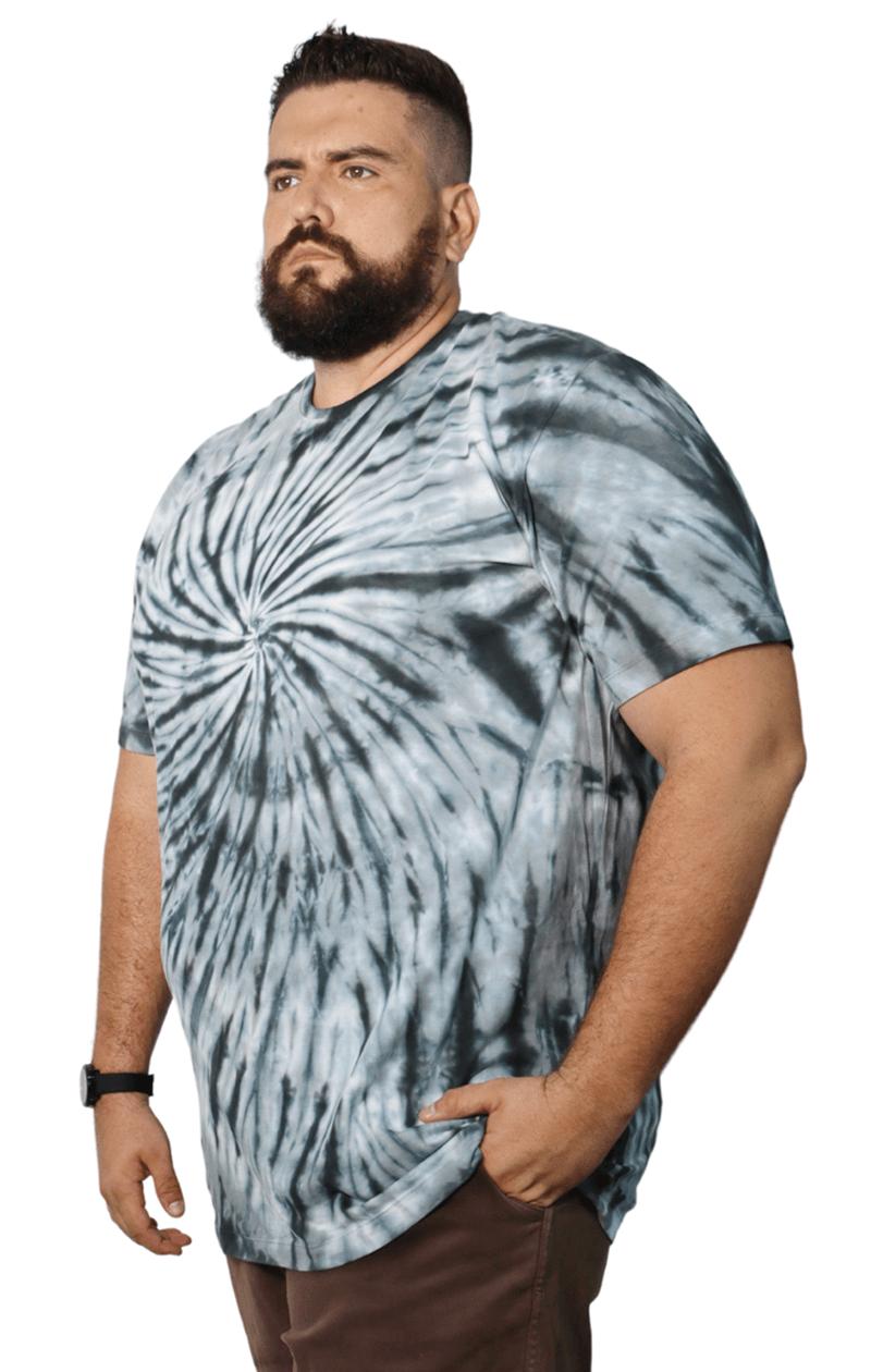 Camiseta Tie Dye Infinito Plus Size - Promoção