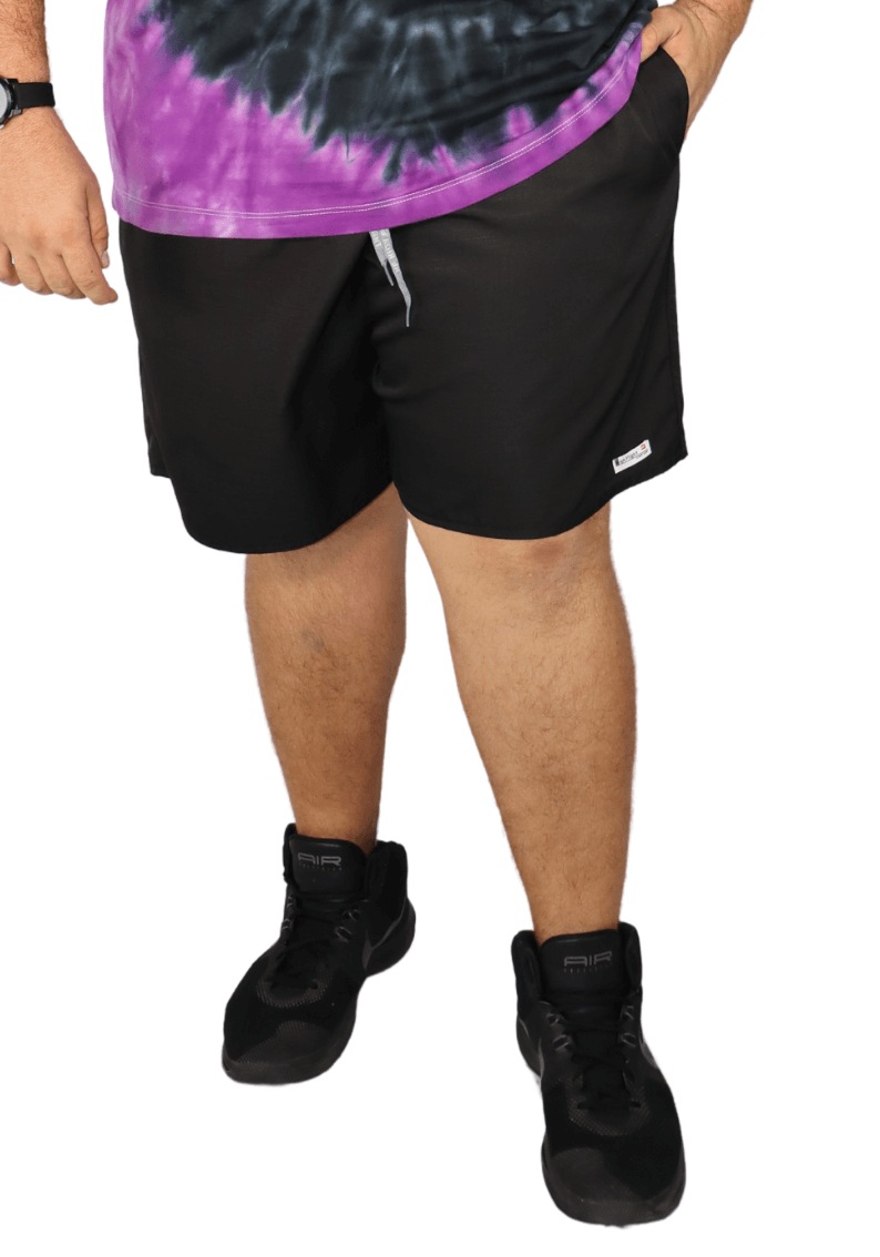 Short Masculino Tactel Micro-Fibra Plus Size