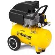 Compressor de Ar Tekna Certificado 127v/60hz Reservatorio 24L motor Elétrico 2HP Pressão Max 115psi