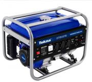 Gerador a Gasolina 3.1Kva 3100w 115/230v 60hz Mono 4T Partida Manual Multi-uso 196cc Refrigerado a Ar Marca Tekna