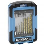 Kit de Acessórios Sextavados Gamma Para Furadeira e Parafusadeira 32 Peças