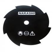 Lâmina 8 Dentes Nakashi Para Roçadeiras
