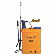 Pulverizador Costal Buffalo Elétrico e Manual 20LT