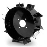 """Rodas de Ferro para Motocultivador 8"""" (Conjunto) para Encanteirar"""