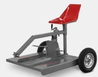 Aparador de Grama para Motocultivador AGT-700 Traseiro sem Motor