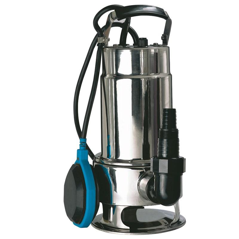 Bomba de Água Submersível 750 W Gamma (Água Suja / Corpo em Aço Inox)