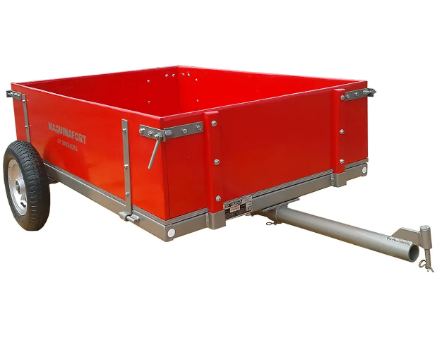 Carretinha Simples para Trator Cortador de Grama 1300-T