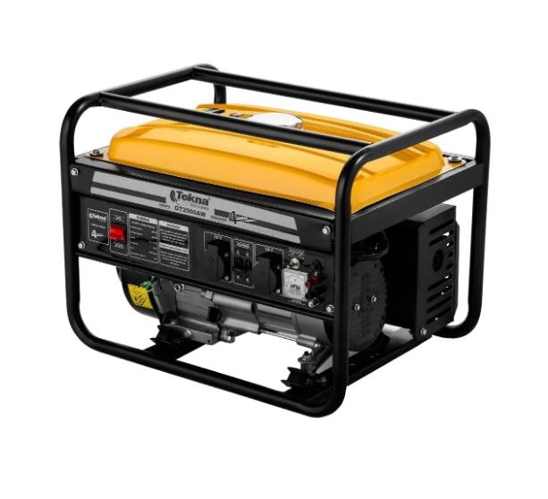 Gerador a gasolina Tekna, potência Máxima 2200w, monofásico 127/220v 60hz