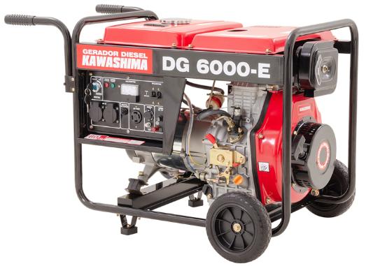 Gerador de Energia Kawashima DG 6000-E