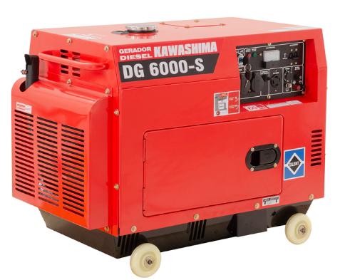 Gerador de Energia Kawashima DG 6000-S/ST