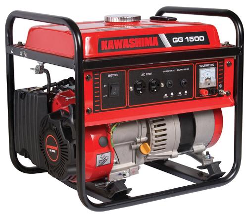 Gerador de Energia Kawashima GG 1500
