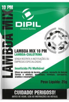 Inseticida em Pó Lambda Mix 10 PM 25 g